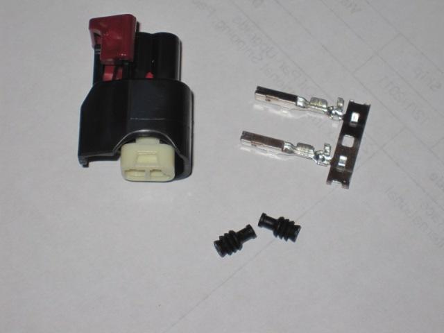 USCAR EV6/EV14 Style Fuel Injector Connectors, Viper